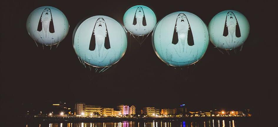 Palloni gonfiabili Aerostatici